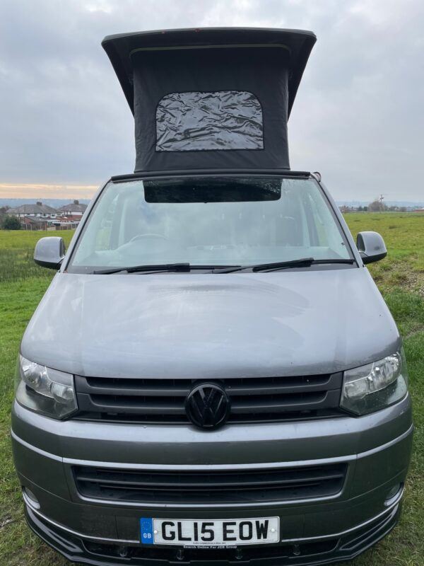 Bowfell VW Campervan for hire with Breakout Campers with Pop up top