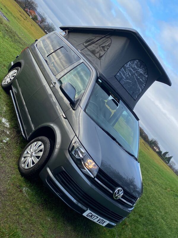 VW Transporter Campervan with Pop-Up top from Breakout Campers