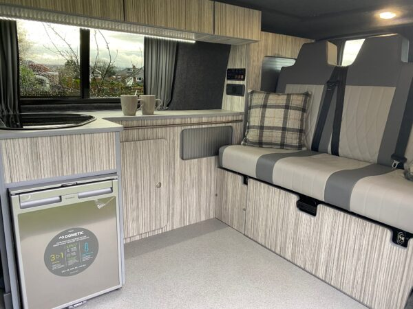 Crib Goch VW Transporter Camper for hire in Lancashire with Breakout Campers