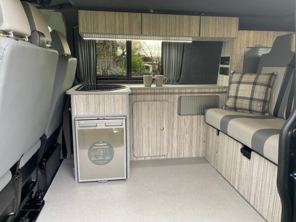 Crib Goch VW Transporter Camper for hire in Bolton with Breakout Campers