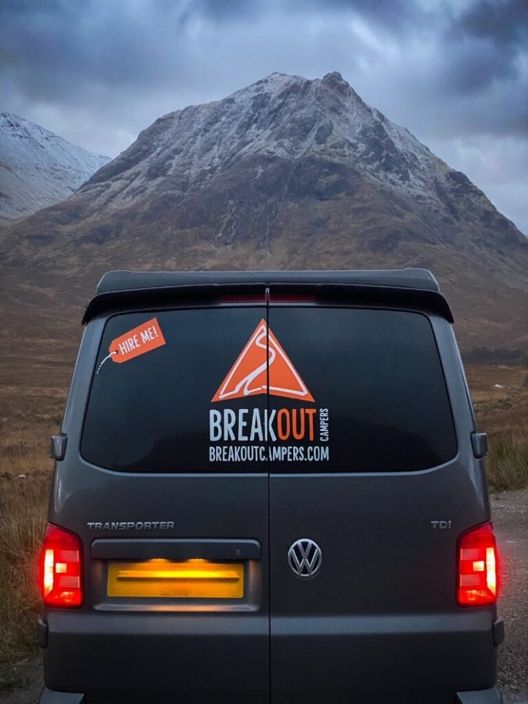 A mountain adventure with Breakout Campers campervan hire
