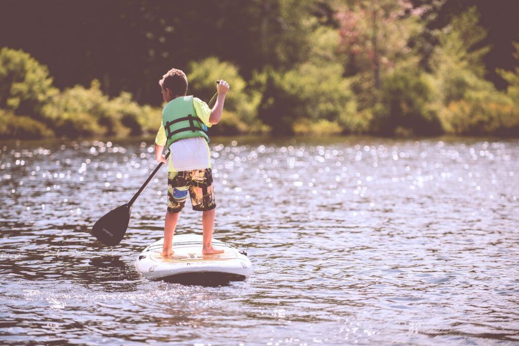 Adventure Camping Holiday - Paddle Boarding