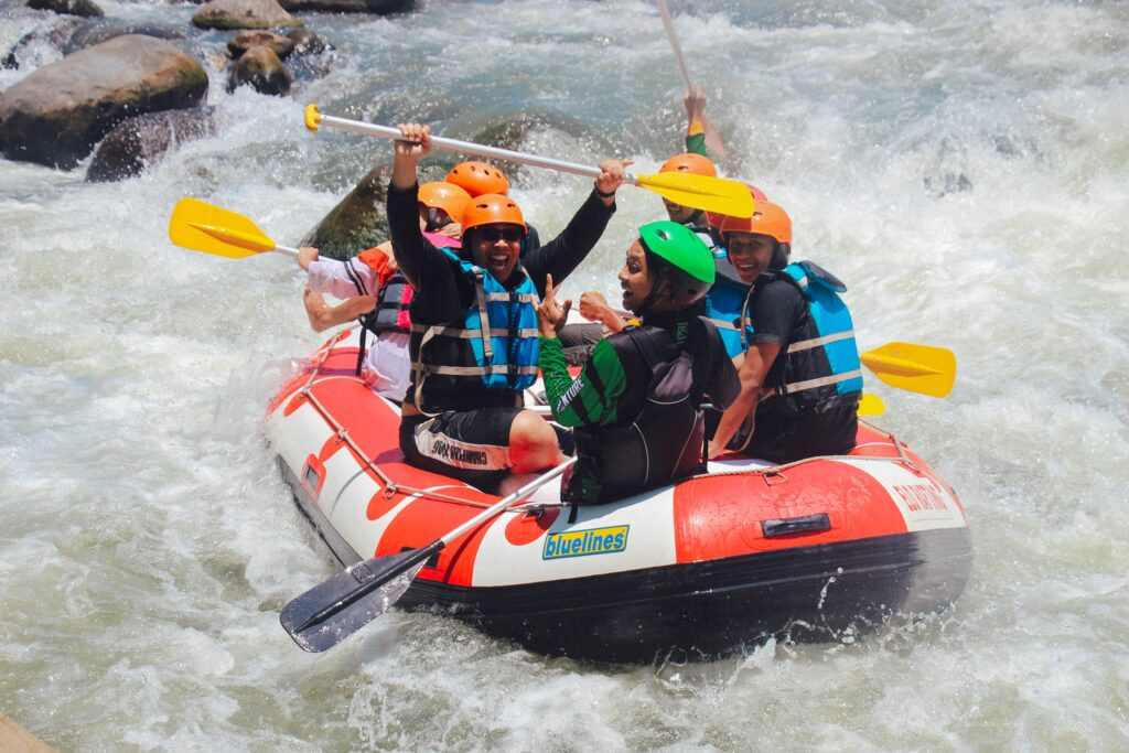 Adventure Camping Holiday - White Water Rafting